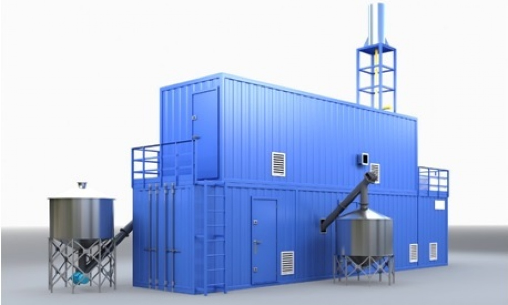 Organic waste treatment in the high temperature ablative pyrolysis reactor